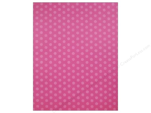 We R Memory Keepers Poster Board 22 x 28 in. Dots Pink