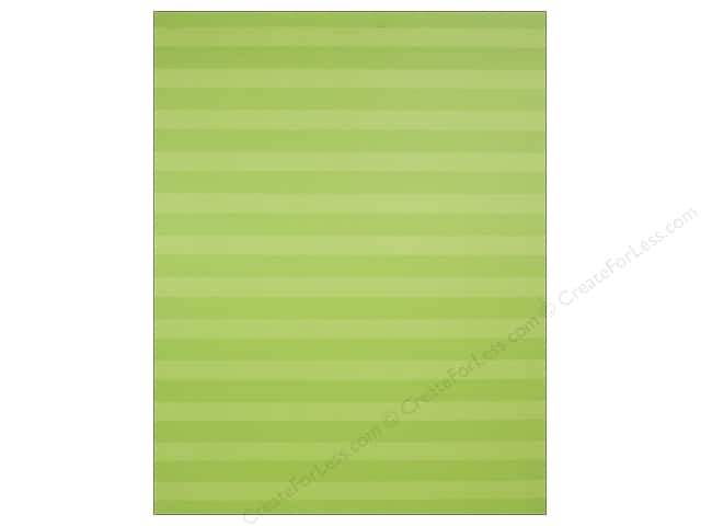 We R Memory Keepers Poster Board 22 x 28 in. Stripes Lime