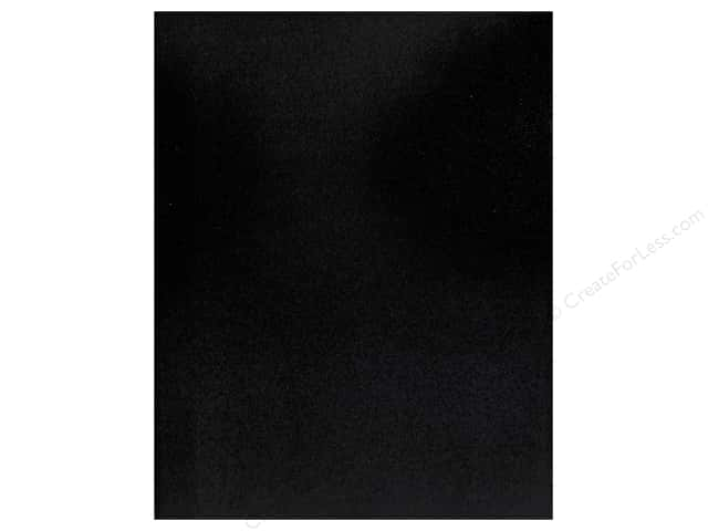 We R Memory Keepers Poster Board 22 x 28 in. Glitter Black