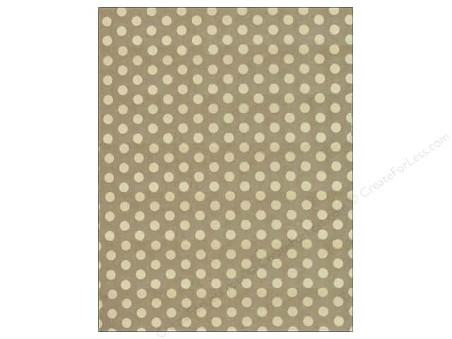 We R Memory Keepers Poster Board 22 x 28 in. Gold Foil Dot Kraft