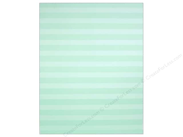 We R Memory Keepers Poster Board 22 x 28 in. Stripes Mint