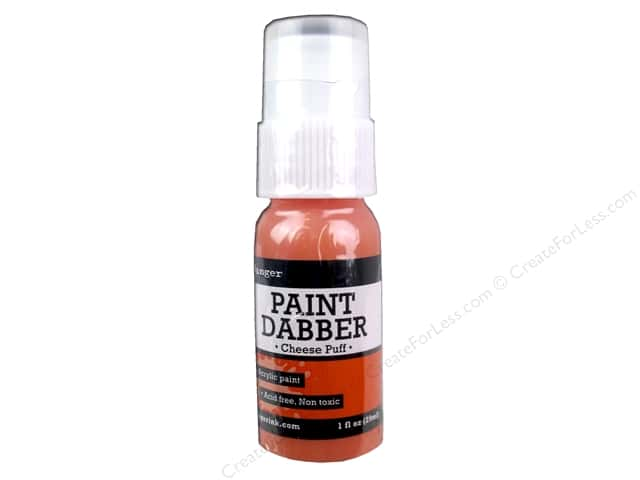Ranger Acrylic Paint Dabbers 1 oz. Cheese Puff