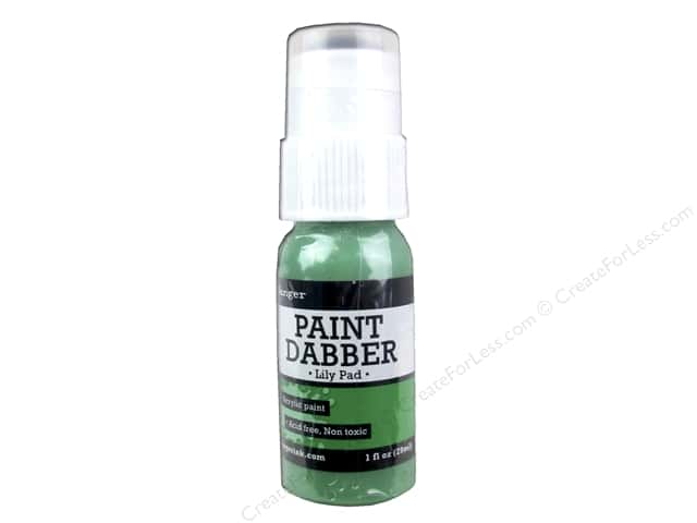 Ranger Acrylic Paint Dabbers 1 oz. Lily Pad