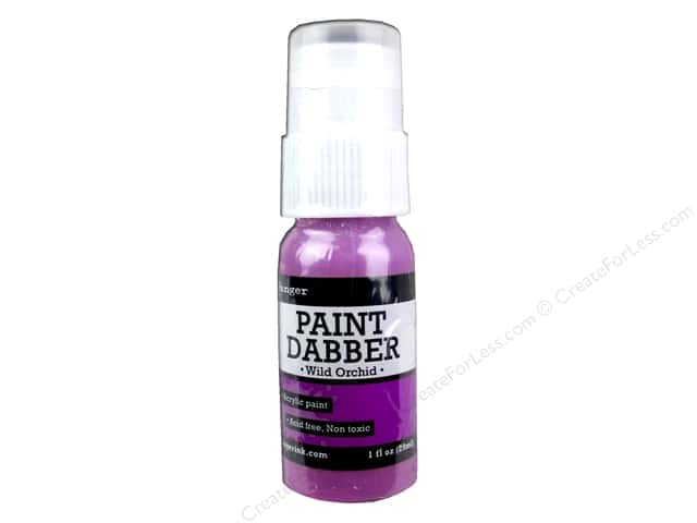 Ranger Acrylic Paint Dabbers 1 oz. Wild Orchid