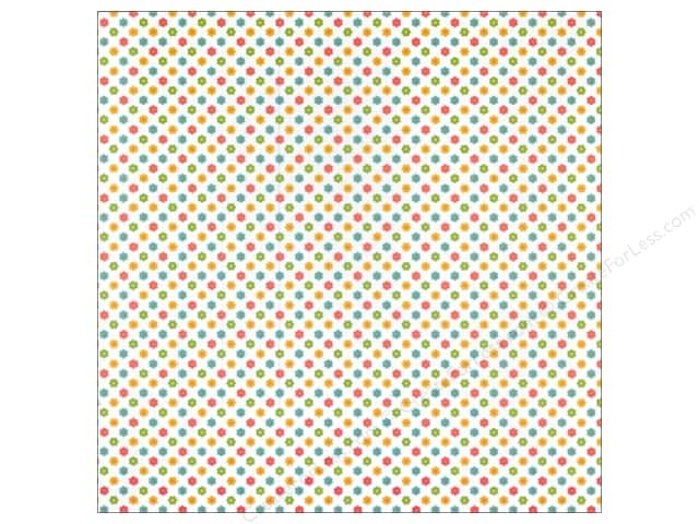 Doodlebug 12 x 12 in. Paper Sunkissed Vellum Sprinkles Bitsy Blossoms (25 sheets)