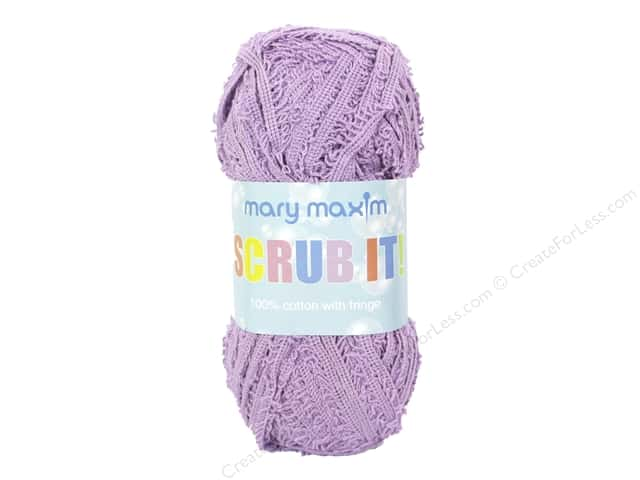 Mary Maxim Scrub It Yarn 76 yd. Orchid