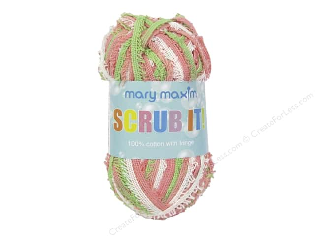 Mary Maxim Scrub It Yarn 76 yd. Summer