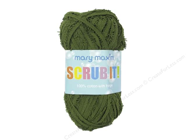 Mary Maxim Scrub It Yarn 76 yd. Leaf