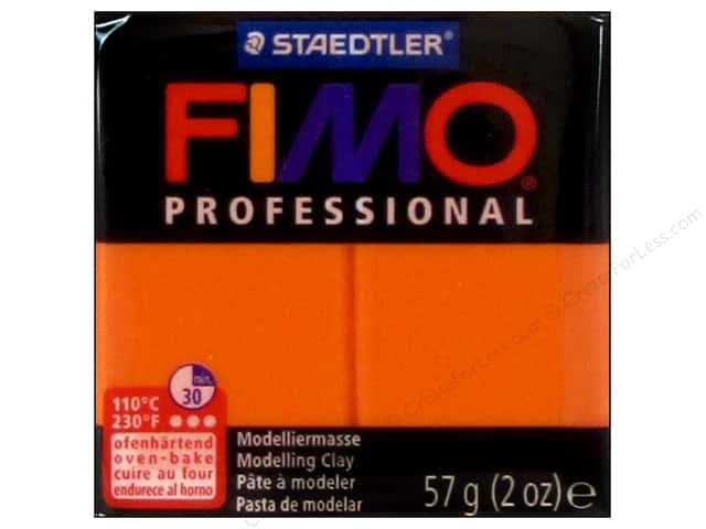 Fimo Professional Clay 2 oz. Orange