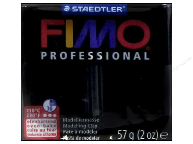 Fimo Professional Clay 2 oz. Black