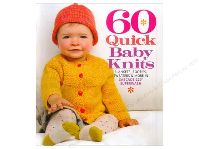 Sixth & Spring 60 Quick Baby Knits Book