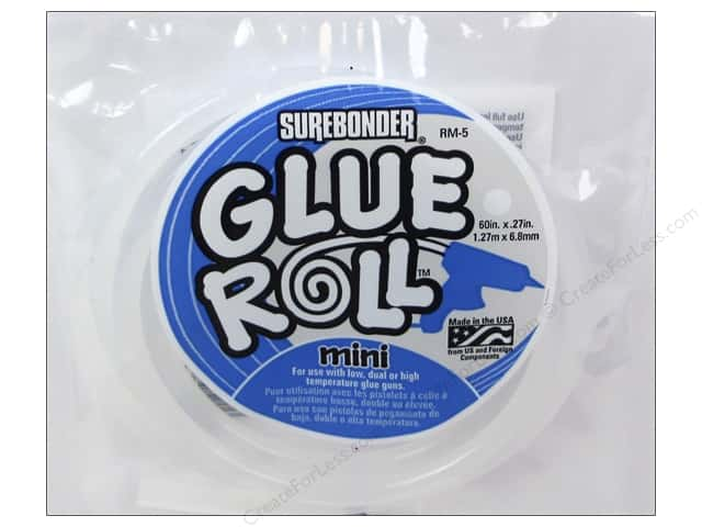 "Surebonder Glue Stick Roll 60"" Mini"