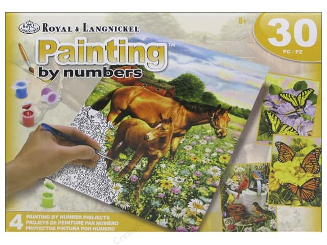 Royal Paint By Number Activity Set Farm Life