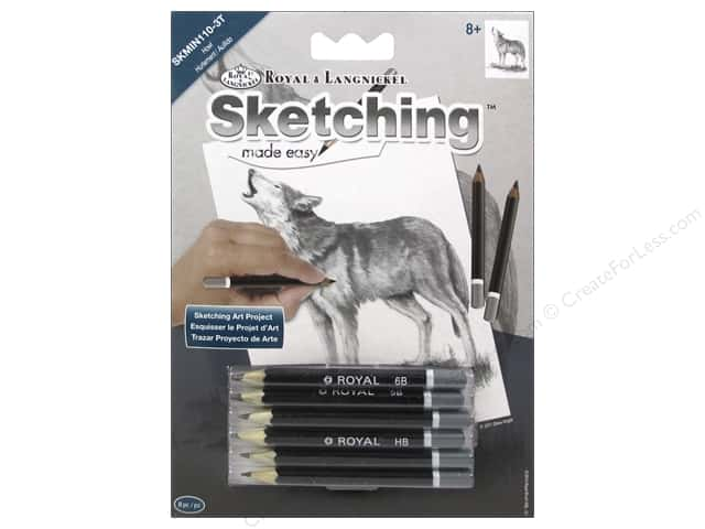 Royal Sketching Made Easy Mini Howl