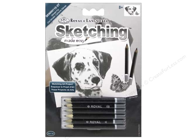 Royal Sketching Made Easy Mini Dalmatian Pup