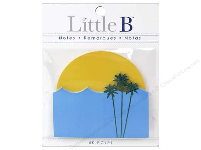 Little B Paper Adhesive Notes Sunset And Beach