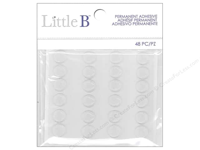 Little B Sticker Adhesive Dots Permanent 48 pc.
