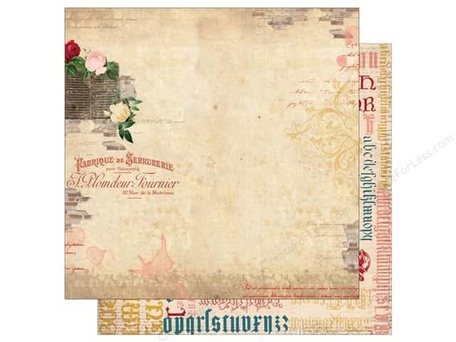 Bo Bunny 12 x 12 in. Paper Juliet Collection Amore (25 sheets)