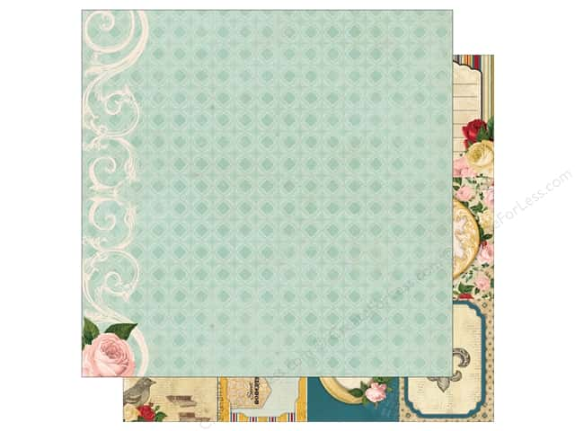 Bo Bunny 12 x 12 in. Paper Juliet Collection Prose (25 sheets)