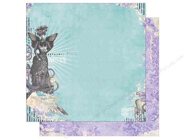 Bo Bunny 12 x 12 in. Paper Penny Emporium Collection Penny Emporium (25 sheets)