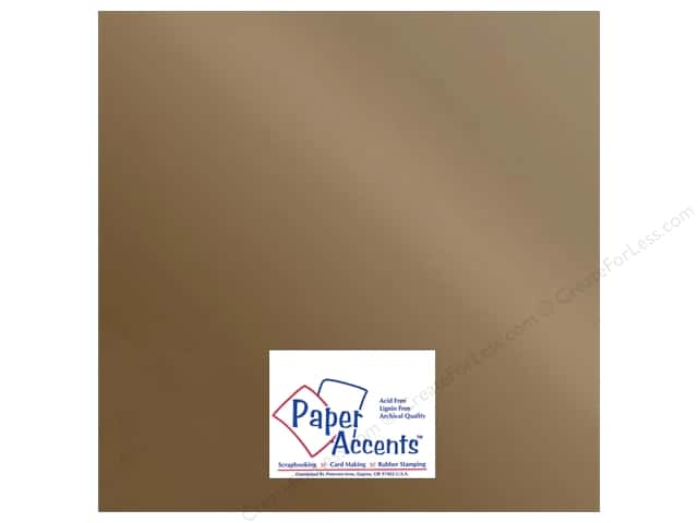 Paper Accents Adhesive Vinyl 12 x 12 in. Removable Matte Metallic Copper (12 sheets)
