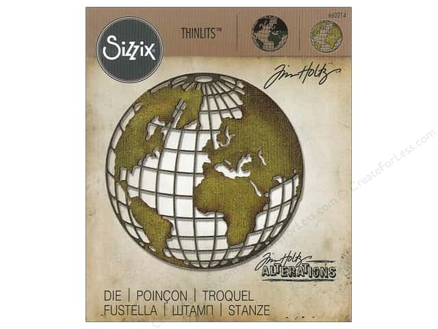 Sizzix Thinlits Die 1 pc. Globe