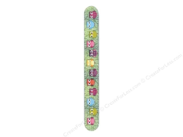 FotoFiles Nail File 7 in. Wise Owls