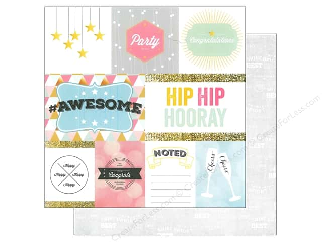 Webster's Pages 12 x 12 in. Paper Allison Kreft Happy HipHipHooray (25 sheets)