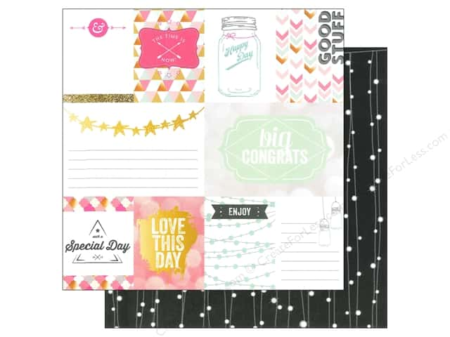 Webster's Pages 12 x 12 in. Paper Allison Kreft Happy Good Stuff (25 sheets)