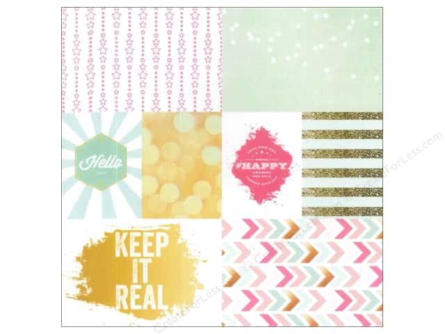 Webster's Pages 12 x 12 in. Paper Allison Kreft Happy Vellum Keep It Real (25 sheets)