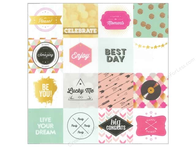 Webster's Pages 12 x 12 in. Paper Allison Kreft Happy Vellum Best Day Cards (25 sheets)