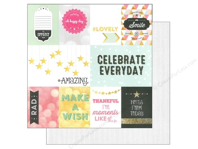 Webster's Pages 12 x 12 in. Paper Allison Kreft Happy Storyteller Card 1 (25 sheets)
