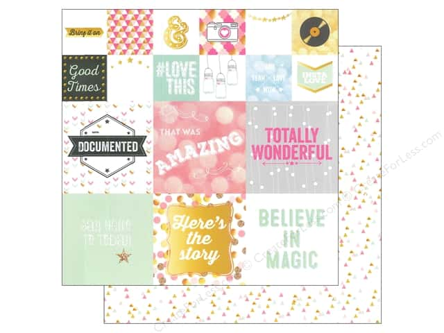 Webster's Pages 12 x 12 in. Paper Allison Kreft Happy Storyteller Card 2 (25 sheets)