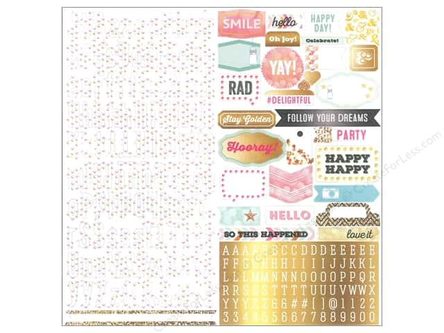 Webster's Pages Sticker Allison Kreft Happy Alpha Shape