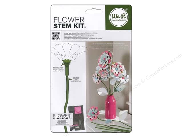 We R Memory Kits Flower Stem Floral Tape Green