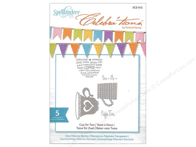 Spellbinders Stamp Celebra'tions Cup For Two