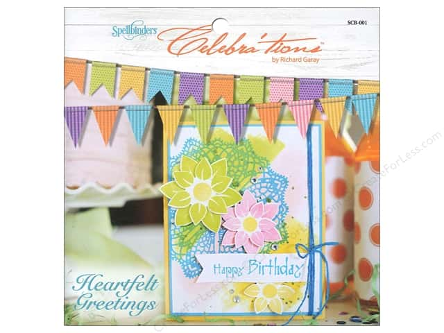 Spellbinders Celebra'tions Inspiration Heartfelt Greetings Book