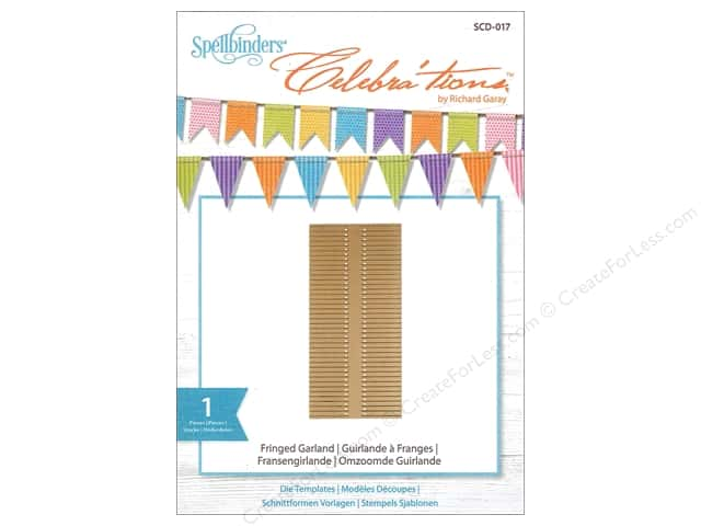 Spellbinders Celebrations Die Fringed Garland