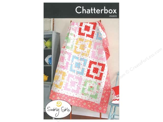 Swirly Girls Design Chatterbox Pattern