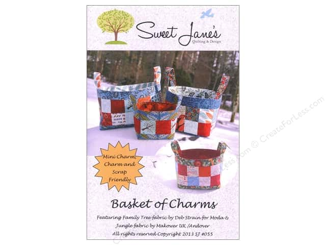 Sweet Jane's Designs Basket of Charms Pattern