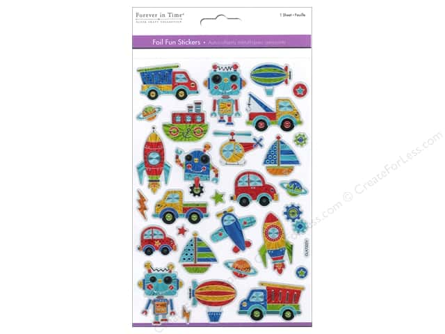 Multicraft Sticker Foil Fun Boy's Toys