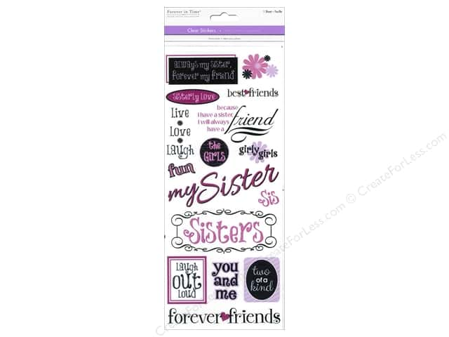 Multicraft Sticker Clear Sister