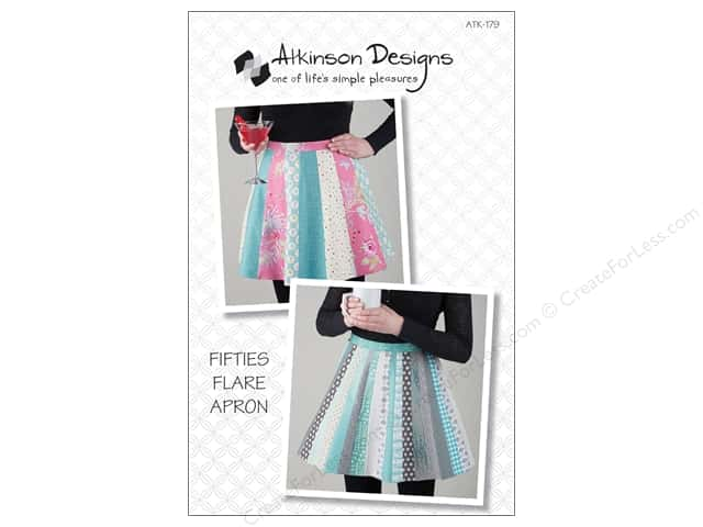 Atkinson Designs Fifties Flare Apron Pattern