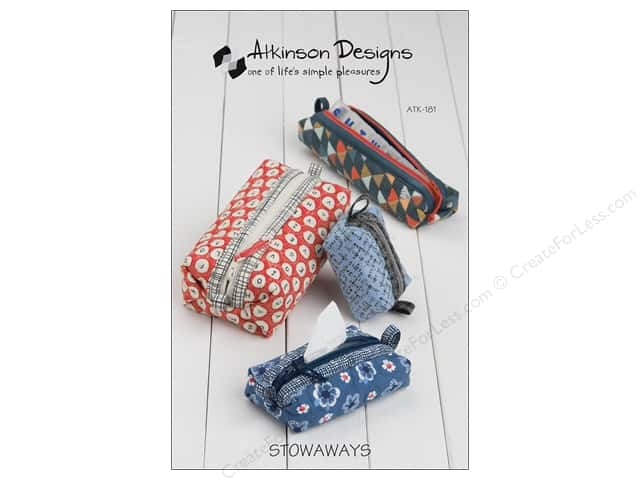 Atkinson Designs Stowaways Pattern