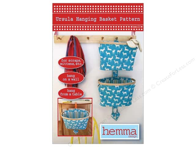 Hemma Design Ursula Hanging Basket Pattern