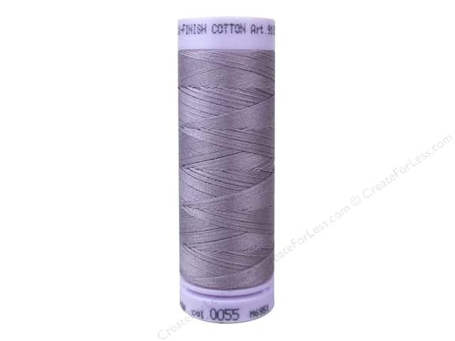 Mettler Silk Finish Cotton Thread 50 wt. 164 yd. #0055 Mallow