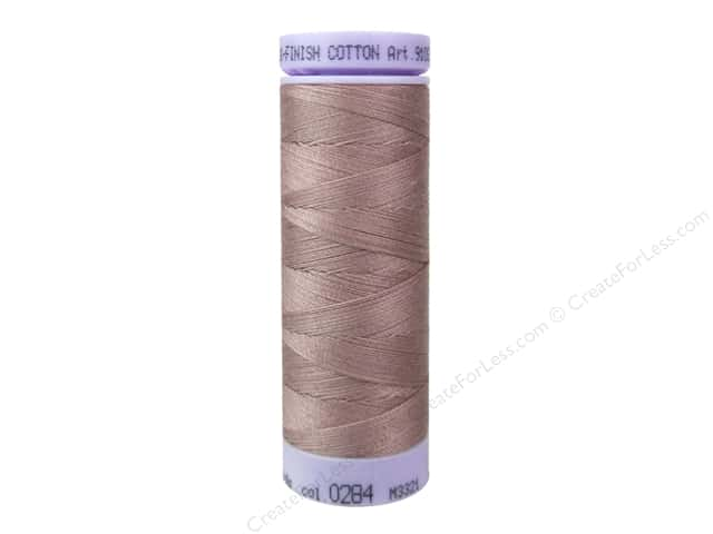 Mettler Silk Finish Cotton Thread 50 wt. 164 yd. #0284 Teaberry