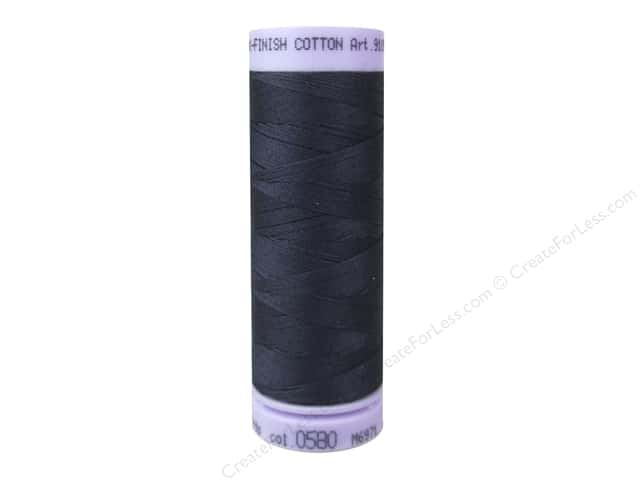 Mettler Silk Finish Cotton Thread 50 wt. 164 yd. #0580 Evening Blue
