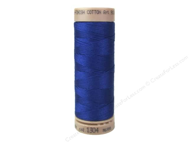 Mettler Silk Finish Cotton Thread 40 wt. 164 yd. #1304 Imperial Blue