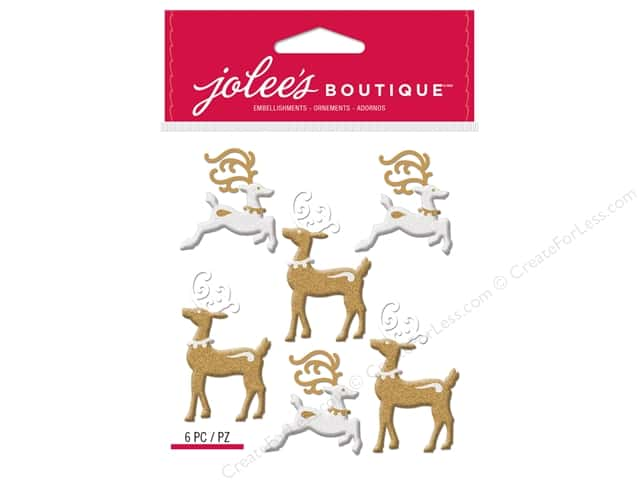 Jolee's Boutique Stickers Repeats Reindeer
